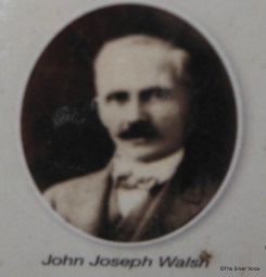 John Joseph Walsh - Image from the Karrakatta Heritage Trail Plaque